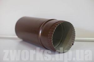 Труба водосточная с полимерным покрытием