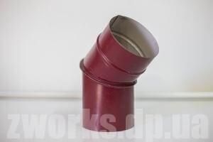 Отвод водосточный с полимерным покрытием
